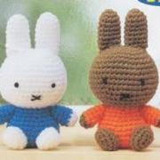 Crochet 2 rabbits PDF Pattern