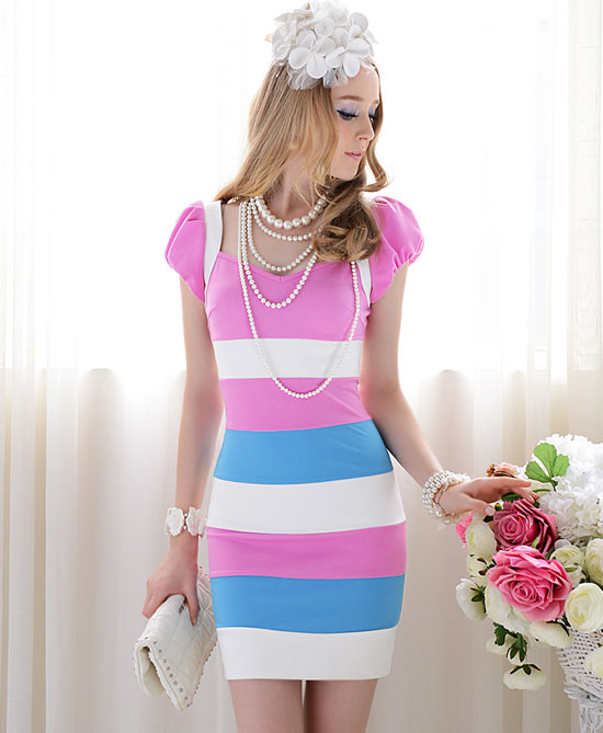 Women Purple Sleeveless Fashion Dress